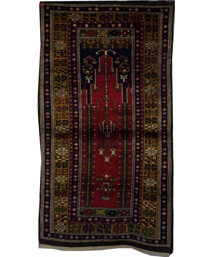 Turkish Nomadic Handmade Wool on Wool Carpet – FREE SHIPPING..!