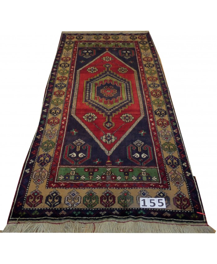 Handmade Turkish Nomadic  Original Wool on Wool Carpets – FREE SHIPPING..!