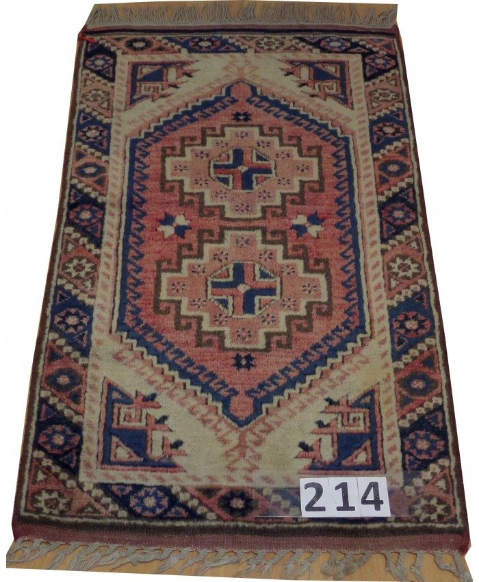 Handmade Turkish Döşemealtı Nomadic Original Wool on Wool Carpets – FREE SHIPPING..!