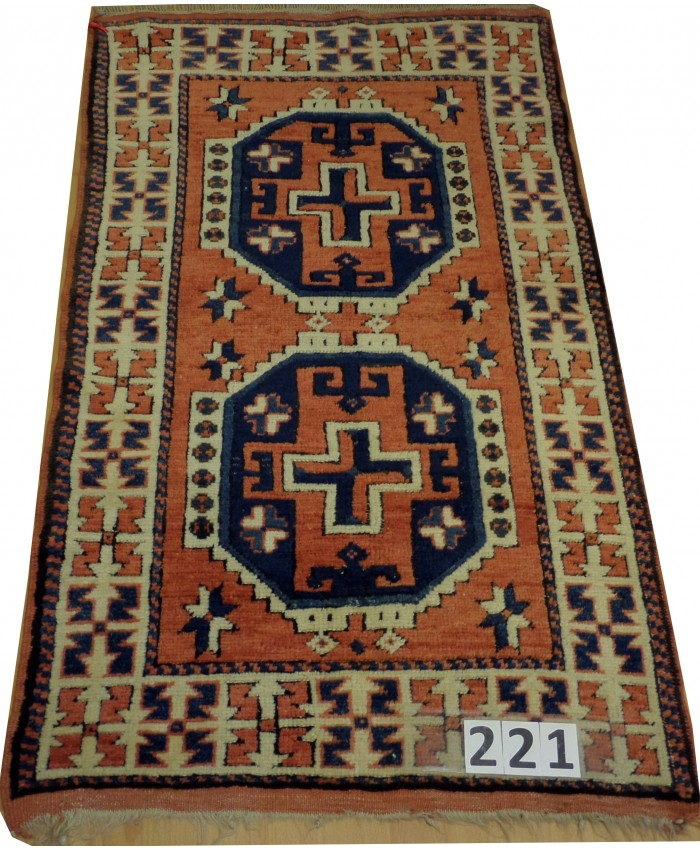 Handmade Turkish Çanakkale Ezine Nomadic Original Wool on Wool Carpets – FREE SHIPPING..!