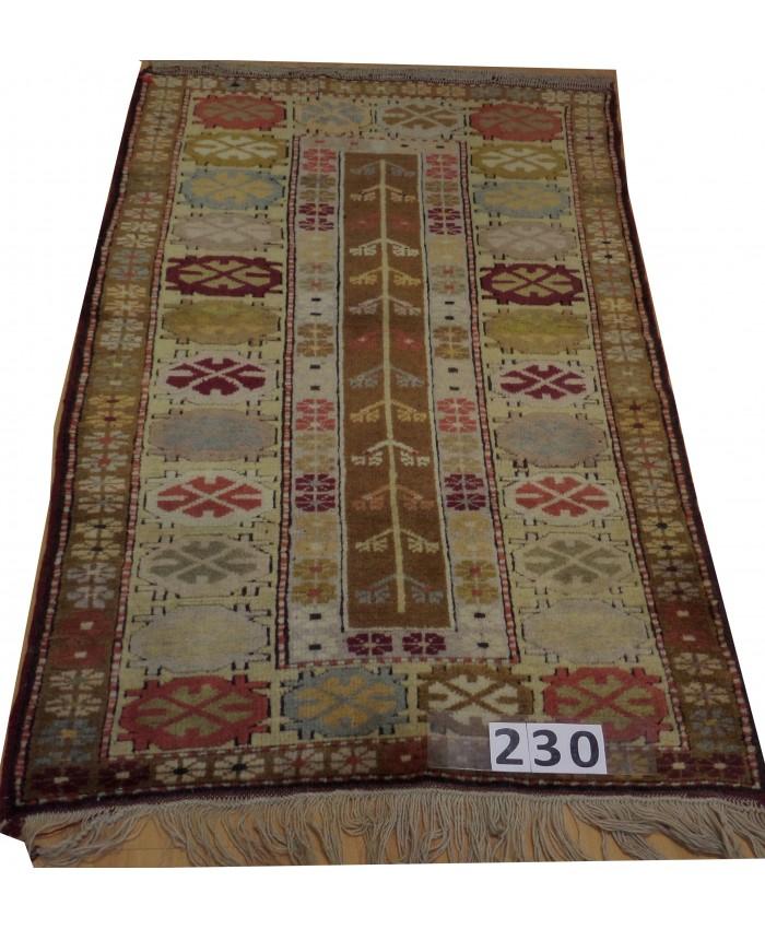 Handmade Turkish Milas Nomadic Orijinal Wool on Wool Carpets – FREE SHIPPING..!