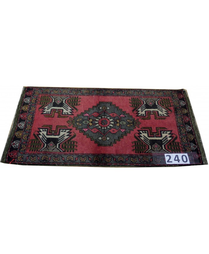 Turkish Kırşehir Handmade Wool on Cotton Carpet – FREE SHIPPING..!