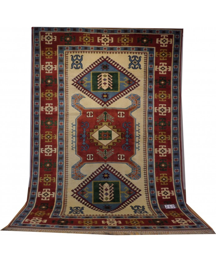 Handmade Turkish Kars Taban Original Wool on Wool Carpets – FREE SHIPPING..!