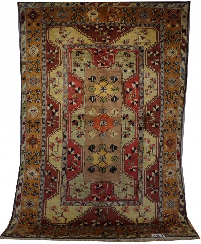 Handmade Turkish Milas Kelle Original Wool on Wool Carpets – FREE SHIPPING..!