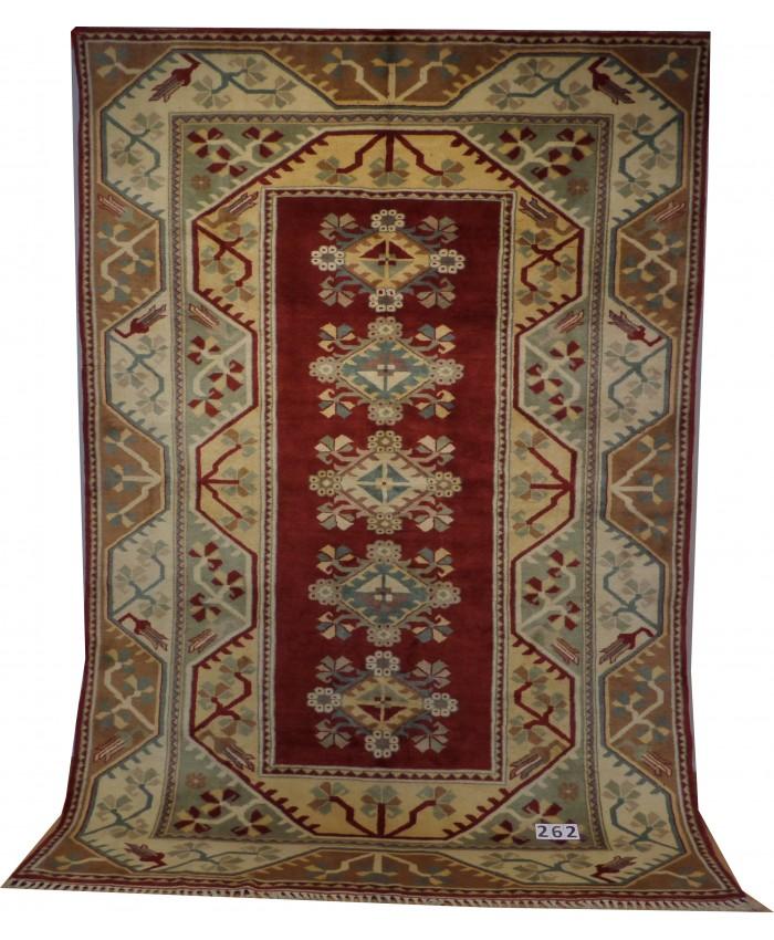 Turkish Milas Nomadic Handmade Wool on Wool Carpet – FREE SHIPPING..!