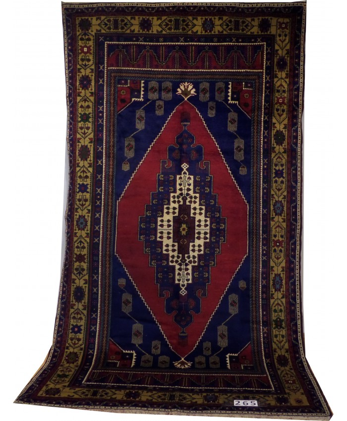 "Handmade Turkish Taşpınar ""Kelle"" Original Wool on Wool Carpets – FREE SHIPPING..!"