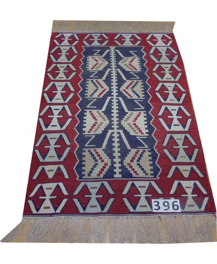 Handmade Turkish Kayseri Original Silk Kilim – FREE SHIPPING..!