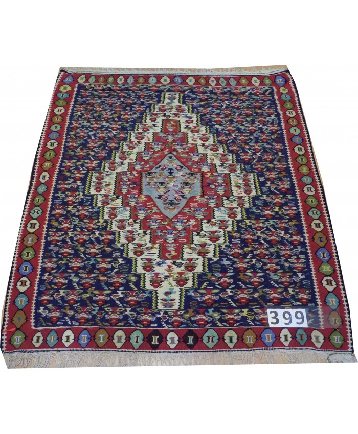 Handmade Hakkari Sine Original Wool On Cotton Kilim – FREE SHIPPING..!