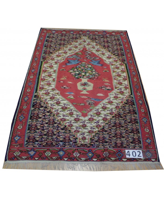 Handmade Hakkari Sine Kilim Original Wool On Cotton – FREE SHIPPING..!