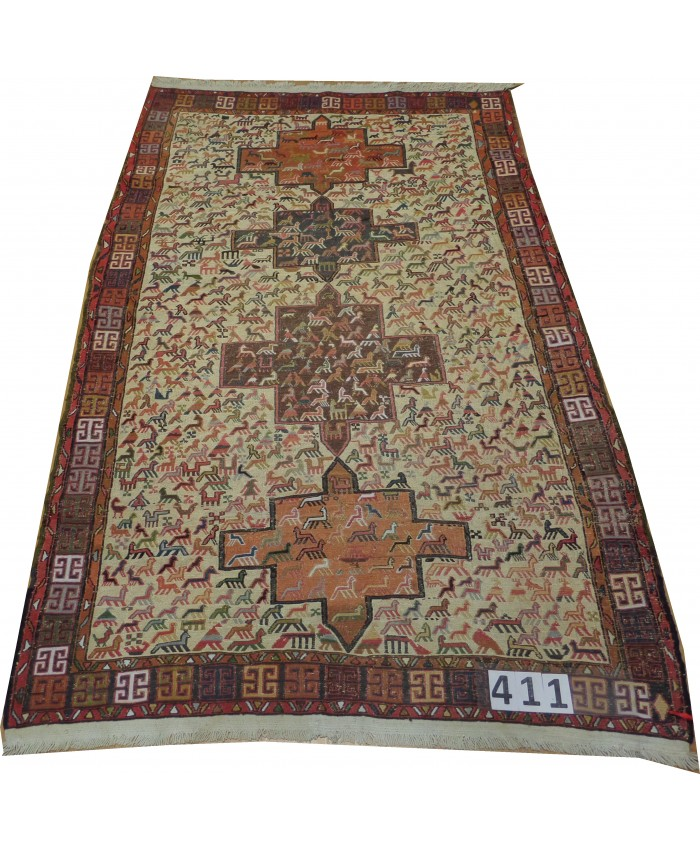 Handmade Hakkari Şehsavan Kilim Original Wool On Cotton – FREE SHIPPING..!