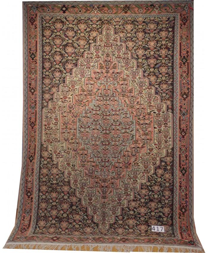 Handmade Hakkari Yüksekova Sine Kilim Original Wool On Cotton – FREE SHIPPING..!