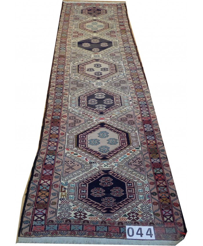 Handmade Hakkari Sumak Original Wool On Cotton Kilim – FREE SHIPPING..!