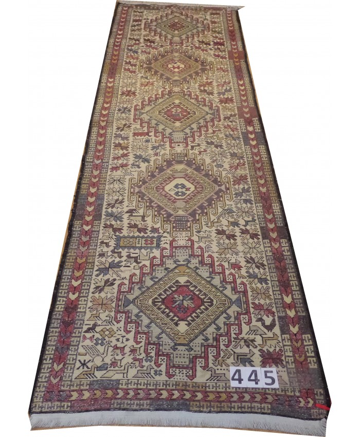 Handmade Hakkari Şehsavan Original Wool On Cotton Kilim– FREE SHIPPING..!