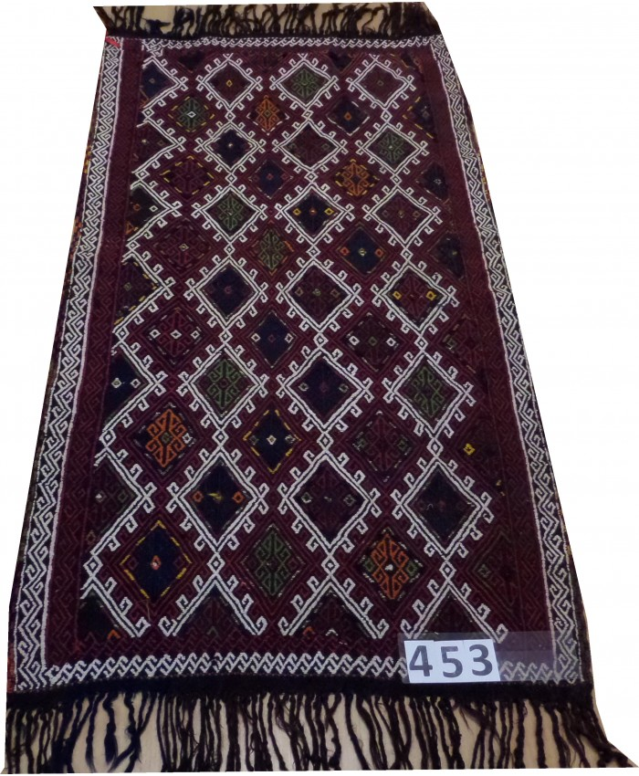 Handmade Turkish Anatolia Cecim Kilim Original Wool On Wool – FREE SHIPPING..!