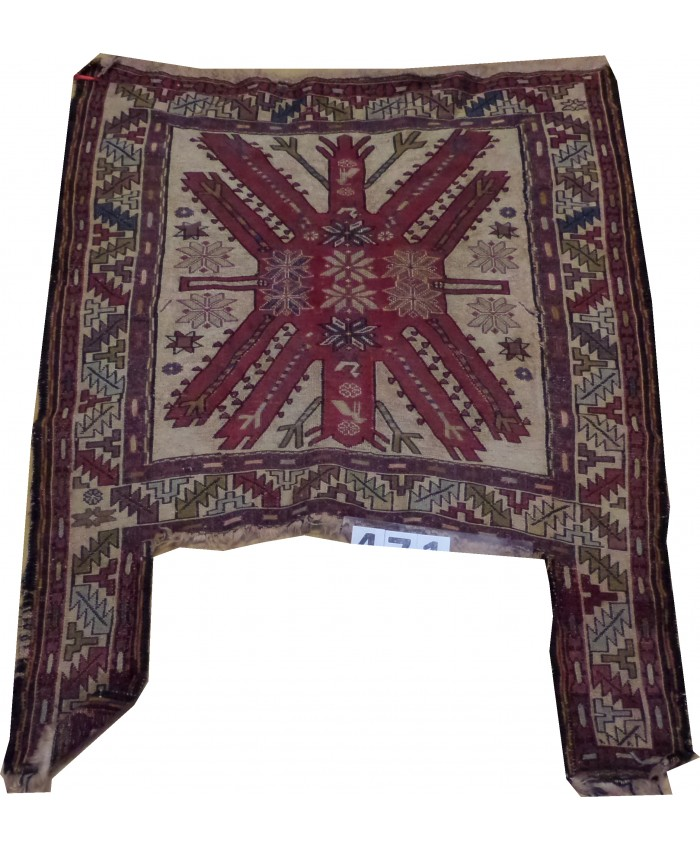 Handmade Hakkari Sumak At Çulu Kilim Original Silk On Wool  – FREE SHIPPING..!
