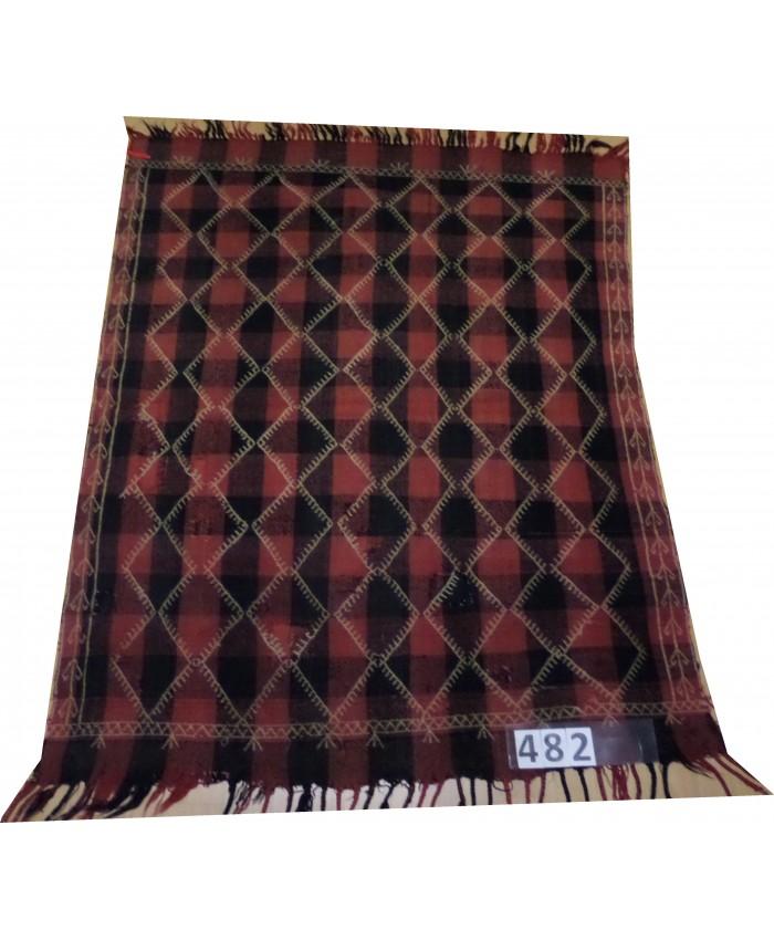 Handmade Turkish Anatolia Sofra Kilim Original Wool On Wool  – FREE SHIPPING..!