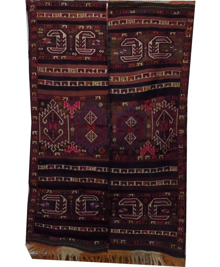 Handmade Hakkari Nomadic Cecim Kilim Original Wool On Wool – FREE SHIPPING..!