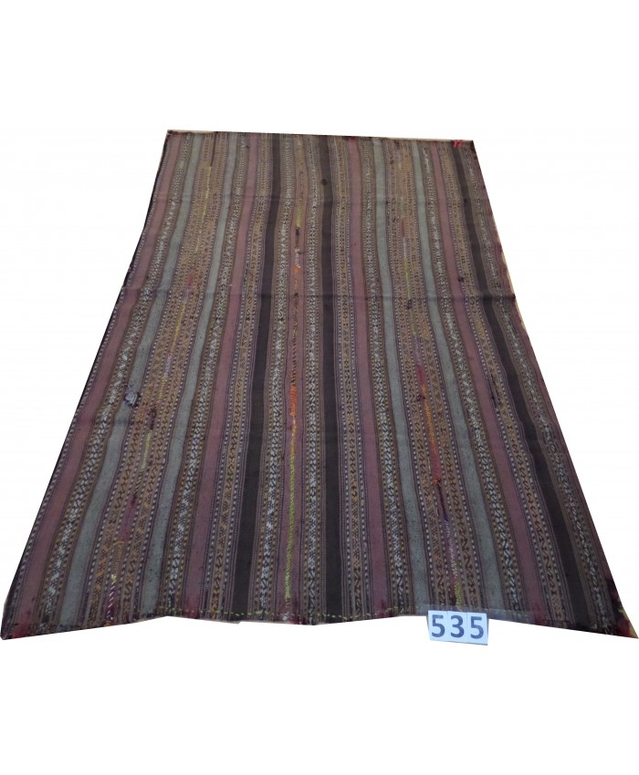Handmade Turkish Anatolian Nomadic Kilim Şal Original Wool On Wool – FREE SHIPPING..!