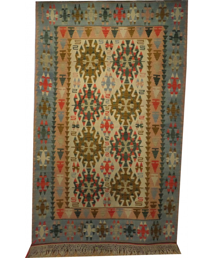 Handmade Turkish Kayseri Kilim Original Wool On Wool – FREE SHIPPING..!