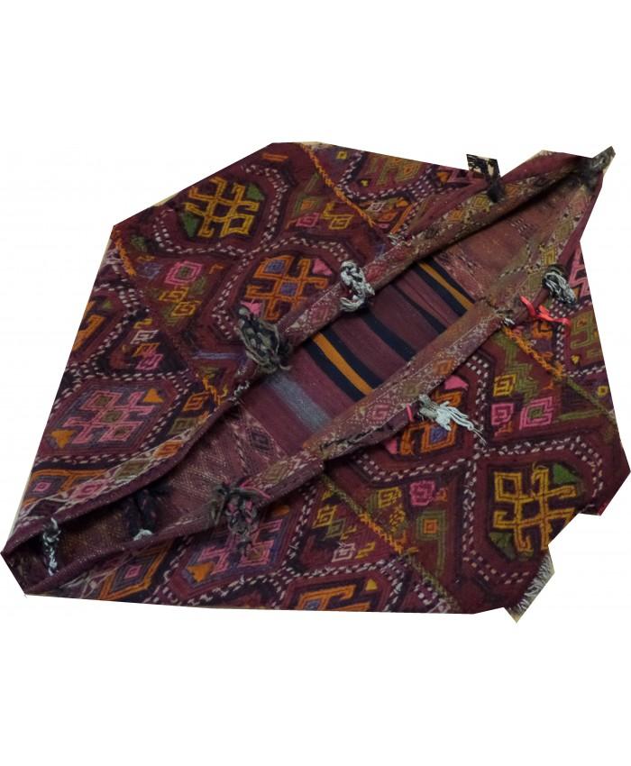 "Handmade Turkish Anatolian Cecim Crib ""Beşik"" Original Wool On Wool – FREE SHIPPING..!"