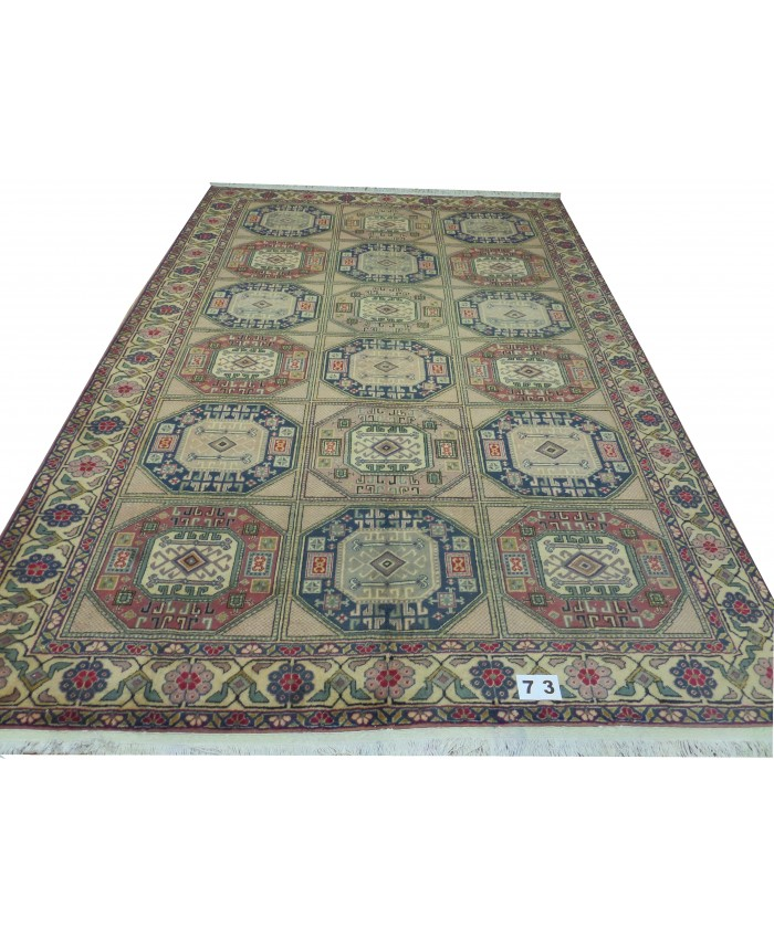 Turkish Kayseri Handmade Wool on Cotton Carpet – FREE SHIPPING..!