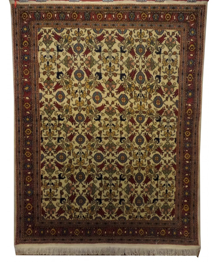 Turkish Hereke Handmade Original Wool on Cotton Carpet – FREE SHIPPING..!