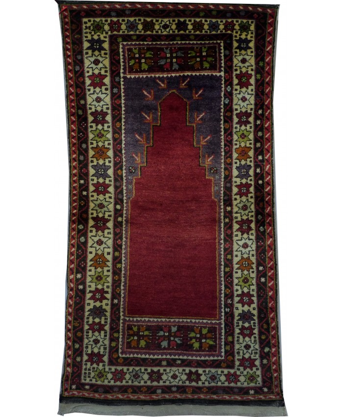 Handmade Turkish Kırşehir Mucur Carpet Wool on Cotton – FREE SHIPPING..!