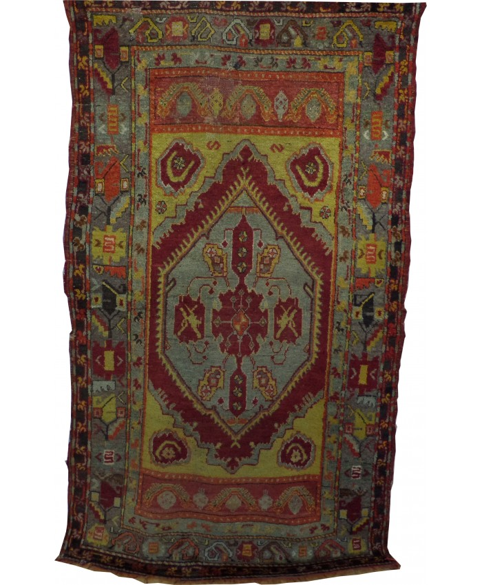 Handmade Turkish Anatolian Wool on Wool Carpet – FREE SHIPPING..!