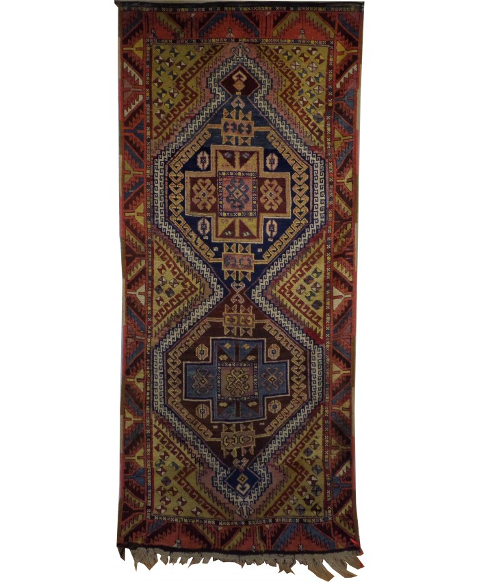 Handmade Terekeme Kazak Wool on Wool Carpet – FREE SHIPPING..!