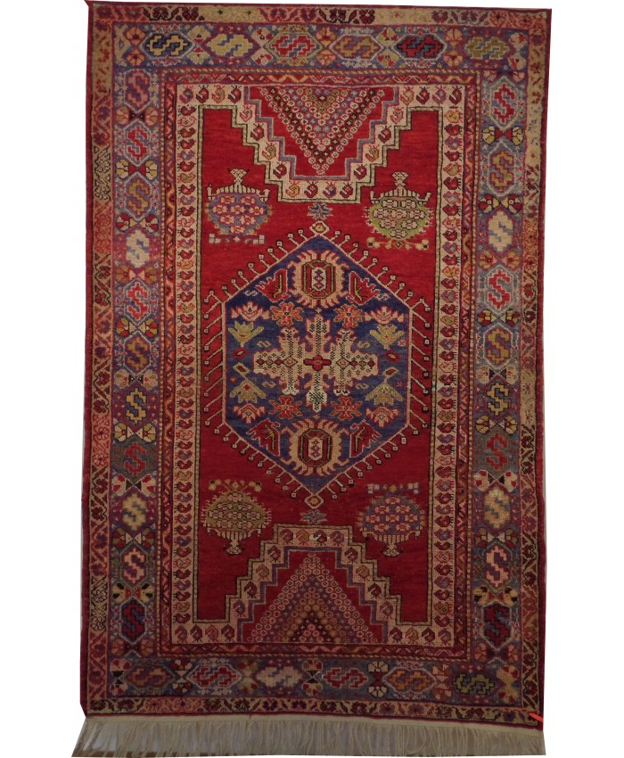 Handmade Turkish Çanakkale Wool on Wool Carpet – FREE SHIPPING..!