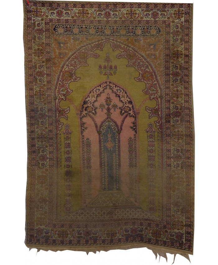 Handmade Kayseri Nebati Original Wool on Cotton Carpet – FREE SHIPPING..!